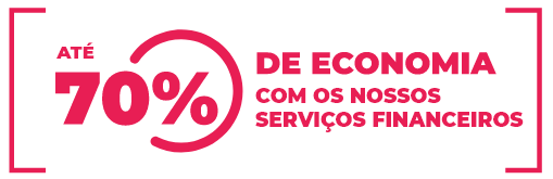 70% de economia